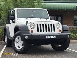 2009 jeep wrangler sport 2009 jeep wrangler sport jk softtop for sale in minchinbury nsw