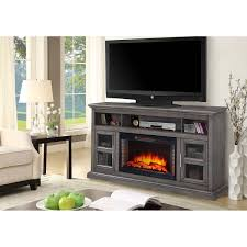 ridgecrest infrared electric fireplace with marble