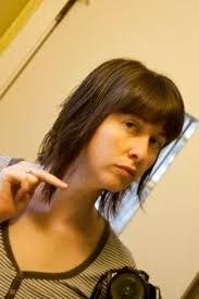 how to cut angled bob haircut myself cute chin length bob haircut hairstyle hair pinterest chin