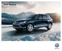 touareg volkswagen 2015 volkswagen 2015 touareg sales brochure