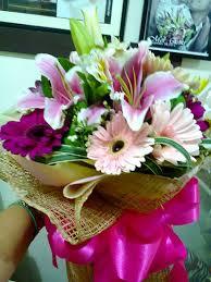 flower shops in bouquets pretty in pink