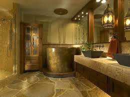 Brown Bathroom Ideas Bathroom Brown Wood Vanity Stainless Wall Shower Japanese