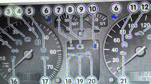vw golf mk4 dash warning lights u0026 symbols what they mean here