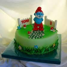 papa smurf birthday cake 100 images top smurfs cakes birthday