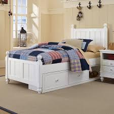 Kids Twin Bed With Storage Ne Kids Lake House Kennedy Panel Bed Hayneedle