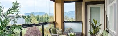 House Design Balcony Retractable Balcony Glass In Toronto Vancouver And Across Canada