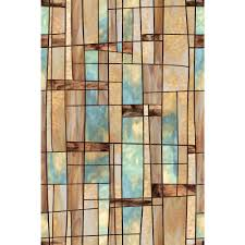 artscape 24 in x 36 in city lights decorative window film 01