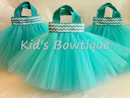 tulle bags chevron ribbon birthday party favor tutu bags