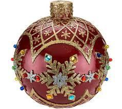 kringle express 18 prelit outdoor indoor oversized ornament