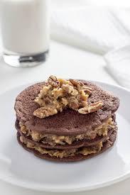 vegan german chocolate pancakes u2013 wee little vegans