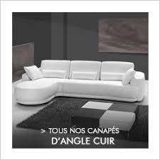 canapé d angle cuir convertible pas cher canapés sofamobili