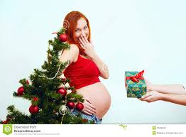 gift pregnant stock image image 34588421