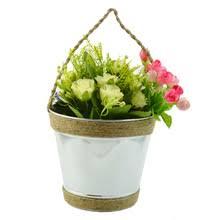 metal hanging flower bucket metal hanging flower bucket suppliers