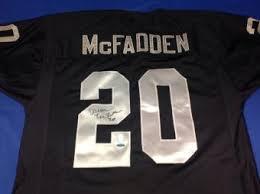 Darren Mcfadden Bench Press Darren Mcfadden Signed Jersey Autographed Authentic Nfl Jerseys