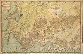 Map Of Rio De Janeiro 1929 Rio De Janeiro Rio De Janeiro Ontem E Hoje Pinterest