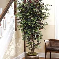 fake trees for home decor home decor beautiful silk trees for stunning home decoration