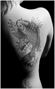 realistic koi fish tattoo ideas for on back koi tattoo
