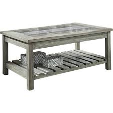 gray wood side table side table coastal side table furniture small metal outdoor