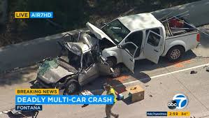 accident on 10 freeway dui suspected in crash that killed 4 time