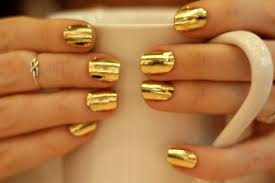 metallic nail foil wraps fancy gold nail foil wraps tine bryllupsnails