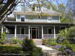 Houses With Big Porches Country Porches Wrap Around Porches Farm House