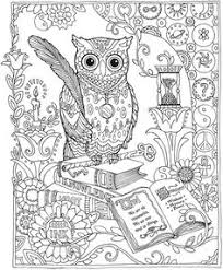 coloring page for adults owl coloring pages of owls for adults bestofcoloring com