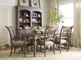 kincaid dining room kincaid furniture weatherford 7 piece dining set with canterbury
