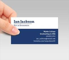 cards for business sle business cards for recent college graduates image collections