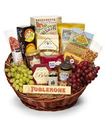 gourmet basket deluxe gourmet basket at from you flowers