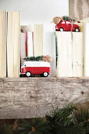 3 festive holiday fireplace mantels how to decorate vintage car ornaments from ballard designs