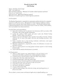 Customer Service Resume Examples 100 Resume Samples For Entry Level Customer Service