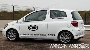 toyota ww car feature toyota yaris cup wangan warriors