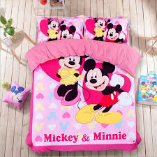 Mickey Mouse King Size Duvet Cover Online Get Cheap Mickey Mouse Bed Cover King Size Aliexpress Com
