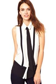 plus size white blouses white womens sleeveless black tie chiffon blouse blouses