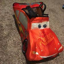 Lightning Mcqueen Halloween Costume Disney Cars 2 Lightning Mcqueen Deluxe Child Costume Size Size