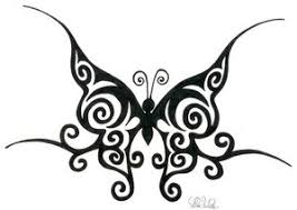 cool design sle for tribal butterfly inspired tattoomagz