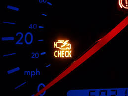 oil change cause a check engine light