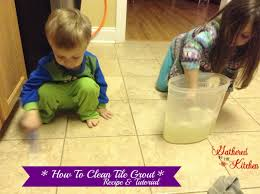 Cleaning Grout With Vinegar Diy Grout Cleaner Recipe With Baking Soda