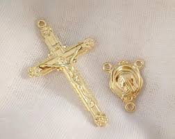 rosary parts high quality solid brass rosary parts in the by thebrassheavens