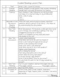 lesson plan template weekly guided reading 1st grade elipalteco