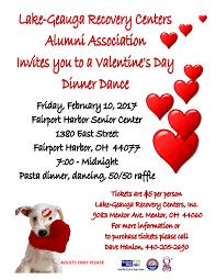 valentine raffle tickets upcoming event lake geauga recovery center u0027s valentine u0027s dinner