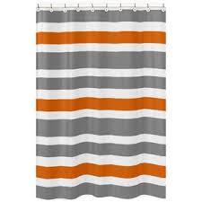 Orange Shower Curtains Orange Shower Curtains You Ll Wayfair