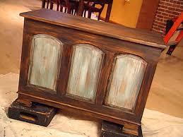 Paint Wood Furniture by Decorative Paint Technique Distressing Instructions Hgtv