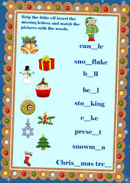 16 best english learning winter worksheets and flashcards images