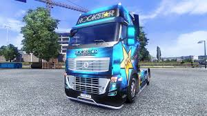 2014 volvo truck tractor color rockstar energy drink on tractor volvo for euro truck