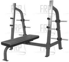 Nautilus Bench Nautilus Commercial Core Fitness F2 Free Weight Olympic Supine