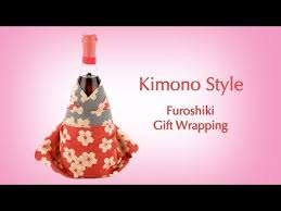 gift wrapping wine bottles dress up a bottle in a chic japanese kimono style