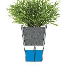 Self Water Pot Top3 By Design Eva Solo Eva Solo Flowerpot Chalk White 13cm