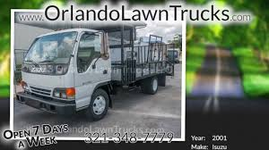 Used Landscape Trucks by 2001 Isuzu Npr Used Lawn Truck For Sale In Florida Youtube