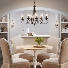 dining room awesome lamp ideas chandelier lighting rattan mid